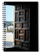 Mexican Door 35 Spiral Notebook