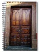 Mexican Door 62 Spiral Notebook