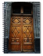 Mexican Door 68 Spiral Notebook
