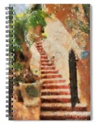 Mexican Impression Spiral Notebook