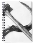 Mexican Revolution Hammer And Sickle Spiral Notebook