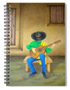 Mexican Serenade Spiral Notebook