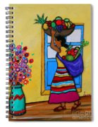 Mexican Street Vendor Spiral Notebook