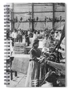 Mexican Textile Factory Spiral Notebook