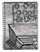 Mexico - Skull Rack Spiral Notebook