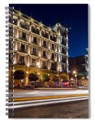 Mexico City At Night Spiral Notebook