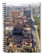 Mexico City Cityscape Spiral Notebook