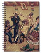 Mexico: Hat Dance Spiral Notebook