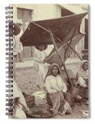 Mexico Market, C1915 Spiral Notebook