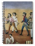 Mexico Satire, C1850 Spiral Notebook