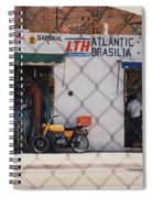 Mexico Tiendas Shops By Tom Ray Spiral Notebook