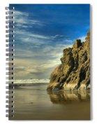 Meyers Beach Stacks Spiral Notebook