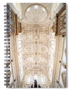 Mezquita Cathedral Ceiling In Cordoba Spiral Notebook