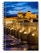 Mezquita Cathedral In Cordoba Spiral Notebook