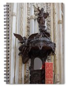 Mezquita Cathedral Pulpit In Cordoba Spiral Notebook