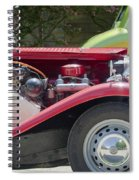 Mg Engine Spiral Notebook