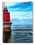 Miah Maull Shoal Lighthouse Spiral Notebook