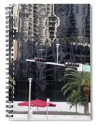 Miami Abstract 1 Spiral Notebook