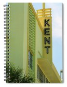 Miami Beach - Art Deco 10 Spiral Notebook