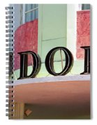 Miami Beach - Art Deco 11 Spiral Notebook