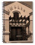 Miami Beach - Art Deco 28 Spiral Notebook