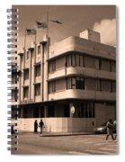 Miami Beach - Art Deco 35 Spiral Notebook