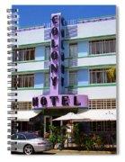 Miami Beach - Art Deco 37 Spiral Notebook