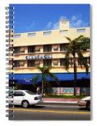 Miami Beach - Art Deco 38 Spiral Notebook