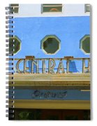 Miami Beach - Art Deco 6 Spiral Notebook
