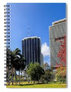 Miami Cityscape   Spiral Notebook