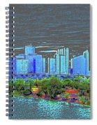 Miami Color Spiral Notebook