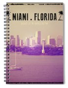 Miami Florida Spiral Notebook