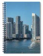 Miami Skyline, Miami-dade County Spiral Notebook