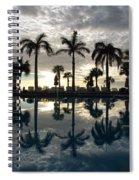 Miami Sunset Spiral Notebook
