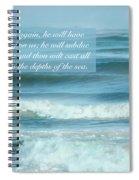 Micah 7 V 19 Spiral Notebook
