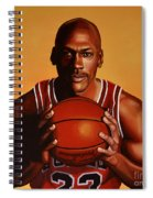 Michael Jordan 2 Spiral Notebook
