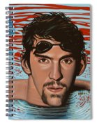 Michael Phelps Spiral Notebook