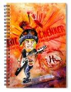 Michael Schenker In Dublin Spiral Notebook