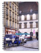 Michaelerplatz. Vienna Spiral Notebook