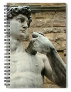 Michelangelo's David 1 Spiral Notebook