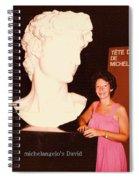 Michelangelos Statue Of David Spiral Notebook