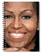 Michelle Obama Spiral Notebook