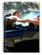 Michelle Rodriguez And Vin Diesel @ Fast To Furious Spiral Notebook