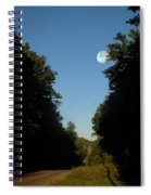 Michigan Country Road Spiral Notebook