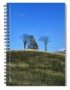 Michigan Fields Spiral Notebook