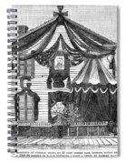 Michigan Grant House Spiral Notebook