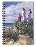 Michigan Shore Memories  Spiral Notebook