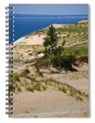 Michigan Sleeping Bear Dunes Spiral Notebook