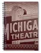 Michigan Theatre Spiral Notebook