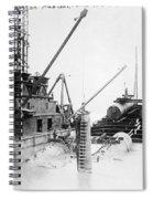 Michigan Tunnel, 1907 Spiral Notebook